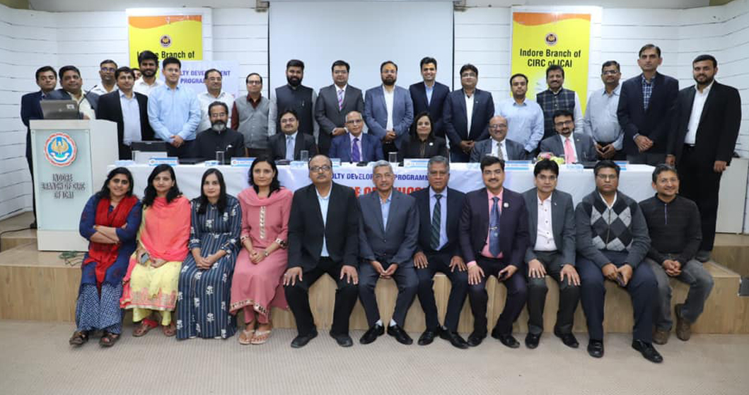 <span> Glimpse from the </span> Faculty Developement Programme  of  <dfn> ICAI Ethical Standards Board </dfn> <br>  held at Indore <span> <b>  on 23rd February 2020.</b> </span>
