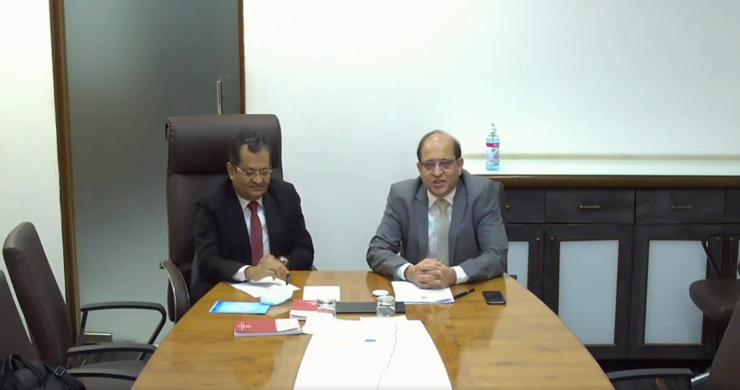 <span>Ethical Standards Board</span> conducted VCM<dfn> on Ethical issues  </dfn> <br>pertaining to<span> <b>Bank Assignments</b><br>on 01.04.2021</br> </span>